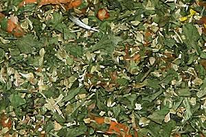 Petersilie / Oregano Mischung getrocknet Petrsilie: Inhaltstoffe ätherische Öle wie z. B. Myristicin, Limonen. Oregano: Ätherische Öle wie Thymol und Carvacrol und p-Cymol, Gerb- und Bitterstoffe. Hoher Vitamin C Gehalt.