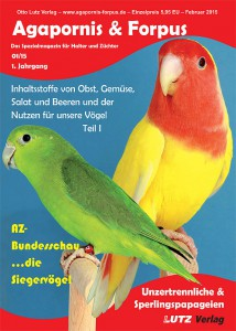 Ausgabe 01/15, 1. Jahrgang erscheint Februar 2015