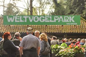 IG Tagung vom 19. bis 21. Mai 2017 in Bad Fallingbostel mit Besuch im Weltvogelpark Walsrode