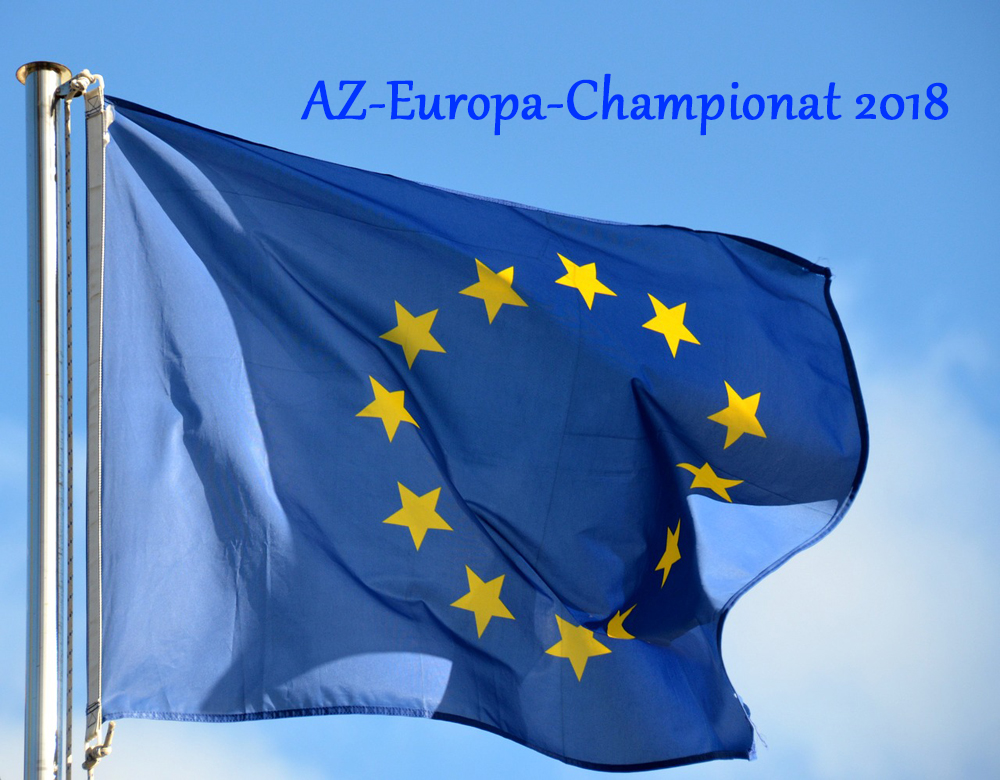 AZ-Europa-Championat 2018 in Karlsruhe am 25. / 26. August 2018