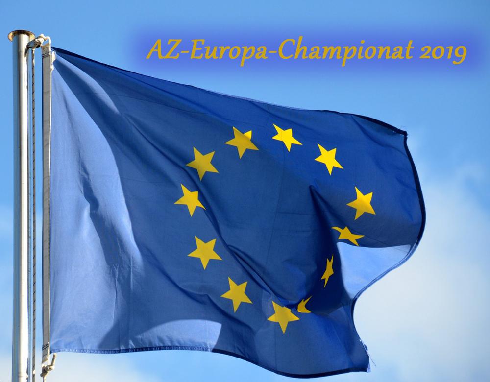 AZ-Europachampionat 2019 in Karlsruhe am 24. und 25. August 2019